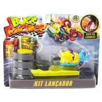 Veículo e Pista de Percurso - Bugs Racing - Lançador - DTC -
