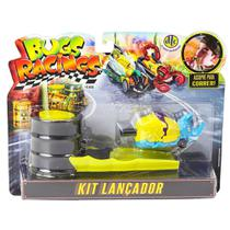 Veículo e Pista de Percurso Bugs Racing Lançador Koleops - DTC -