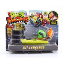 Veículo e Pista de Percurso - Bugs Racing - Lançador - Sluggy - DTC -