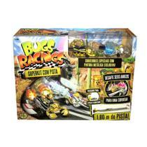 Veículo e Pista de Percurso - Bugs Racing - Super Pista - DTC -