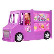 Veículo Food Truck da Barbie - Mattel -