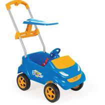 Veiculo para Bebe BABY CAR AZUL C/LARANJA - Homeplay