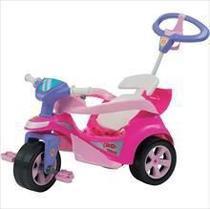 Veiculo para Bebe BABY Trike Evolution Rosa - Biemme