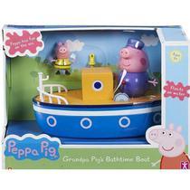 Veiculo Peppa Barco do Vovo PIG com Boneco SUNNY 2309 -