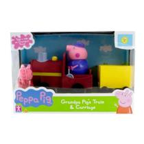 Veiculo Peppa Pig Trenzinho Do Vovô Pig Maquinista Sunny 2306 -