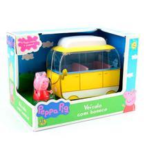 Veículo Peppa Pig Versão Van com Boneco DTC -