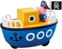 Veículos da Peppa - Barco do Vovo Pig c/ George - Sunny -