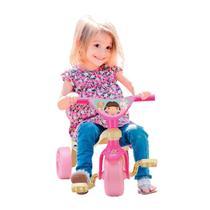 Velocípede Infantil Dolls Triciclo Menina - Samba Toys -
