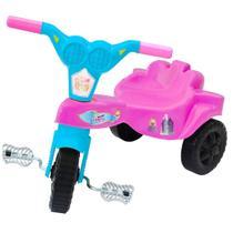 Velocípede Infantil Triciclo Princesa Rosa - Kepler -