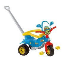 Velotrol Dino Sons Azul Empurrador Motoquinha Triciclo Tico Tico - Magic Toys -