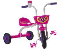Velotrol Triciclo Infantil Ultra Bikes Menina Rosa -