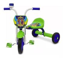 Velotrol Triciclo Infantil Ultra Bikes Menino Verde e Azul -