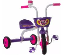 Velotrol Triciclo Infantil Ultra Bikes Top Girl Menina Roxo -