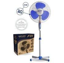 Ventilador de Coluna 40cm Branco Com 45W Azul - Fix -
