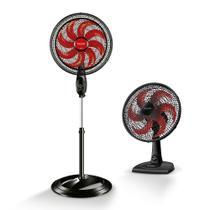 Ventilador De Coluna New Ultra Wind Control 40cm Polishop + Ventilador De Mesa Ultra Wind 30cm Polishop - Mondial