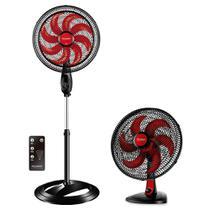 Ventilador De Coluna New Ultra Wind Control 40cm Polishop +  Ventilador De Mesa Ultra Wind 30cm -