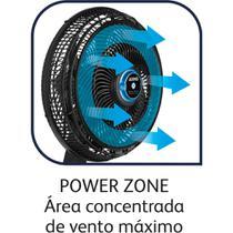 Ventilador de Mesa 40CM Repelente Líquido VF55 - Arno preto -