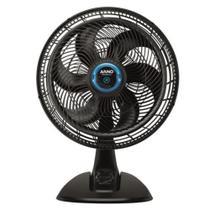 Ventilador de Mesa Arno Ultra Silence Force Repelente VD55 40cm, 6 Pás, 3 Velocidades - Preto 127V -