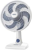 Ventilador De Mesa Parede 30 Cm Silencioso Oscilante 6 Pás 50 Watts Branco 3 Velocidades 127V Econômico Mondial -