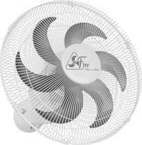 Ventilador de Parede Oscilante 40cm Free Branco Bivolt Grade Aço - Venti delta