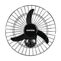 Ventilador de Parede Oscilante 50cm Ventisol Preto Bivolt - DENSO