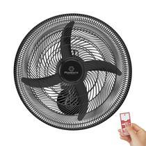 Ventilador De Parede Ponente Oscilante Four 50cm 4 Pás Controle Remoto -