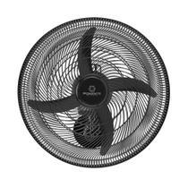 Ventilador De Parede Ponente Oscilante Preto Four 50cm 4 Pás -