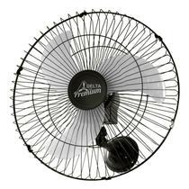 Ventilador de Parede Venti-Delta Premium 60cm Preto Bivolt -