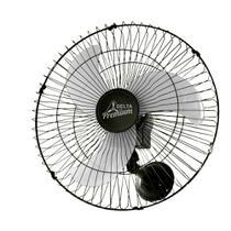 Ventilador de Parede Venti Delta Premium Preto 736425 60cm Grade Aço Bivolt -