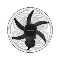 Ventilador de parede Ventisol Turbo 6 Steel Osc, 6 pás, 50cm, 200w - Bivolt -