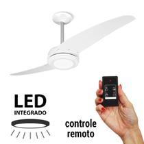 Ventilador de Teto Spirit 203 Branco LED Luz Branca com Controle Remoto -