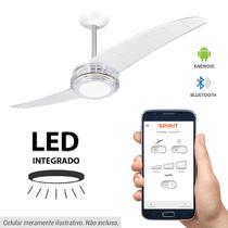 Ventilador de Teto Spirit 203 Cristal LED Bluetooth Controlado por Aplicativo -