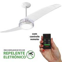 Ventilador de Teto Spirit 203 Cristal Led Repelente Controle Remoto -
