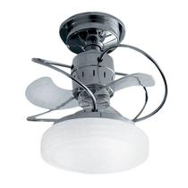 Ventilador de Teto Treviso Bali Cromado C/ LED 18W -