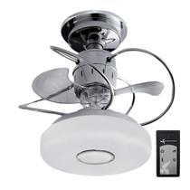 Ventilador de Teto Treviso Monaco Cromado C/ Controle Remoto -