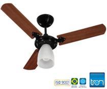 Ventilador de Teto Tron Marbela 110v / 127v 130w Preto -