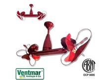 Ventilador de Teto Ventisilva Duo Biv 270/304w Controle Remoto Cor Cereja - Ventilador Duo - VENTMAR -