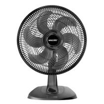 Ventilador Mallory TS40, 40cm, 6 Pás, 3 Velocidade, Preto - B9440097 -