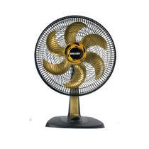 Ventilador Mallory TS40 , 40cm, 6 Pás, 3 Velocidades, Preto / Gold - B9440118 -