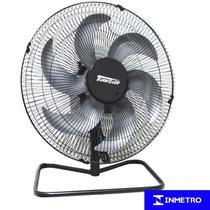 Ventilador Mesa Chão 50cm 220V 200W Industrial Turbo Turbão 6 Pás Vitalex OM50FP220 Preto -