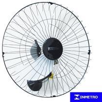 Ventilador Parede 60cm 110V 127V 200W Industrial Turbo Turbão 3 Pás Vitalex OP60AP110 Preto -