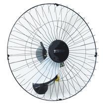 Ventilador Parede 60cm 220V 200W Industrial Turbo Turbão 3 Pás Grade 40 Fios Vitalex OP60AP220 Preto -