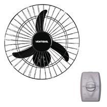 Ventilador Parede Oscilante 50cm New Preto Ventisol -
