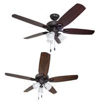 Ventilador Teto Hunter Fan Builder Plus 5 Pás 127v St50062 -