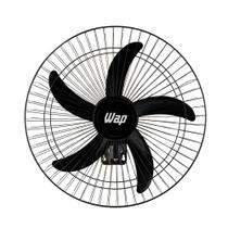 Ventilador Wap Parede Rajada Pro Preto Bivolt 60cm 5 Pás FW006661 -