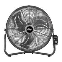Ventilador WAP Rajada PRO 55, 155W 3 Pás 51Cm Chão e Parede -