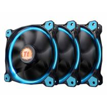 Ventoinha (Cooler) - 12cm - Thermaltake Riing 12 - Led Azul - CL-F055-PL12BU-A (pack c/ 3 unid) -