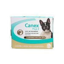 Vermífugo Ceva Canex Plus 3 para Cães - 4 Comprimidos -