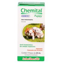 Vermífugo Chemital Puppy 20ml - Chemitec