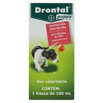 Vermífugo Drontal Puppy para Cães - 100 ml - Bayer